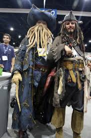Davy Jones Halloween Costume Mens Regal Pirate Captain Costume Men Halloween Costumes
