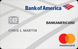 prepaid credit card to build credit bankamericard secured credit card from bank of america