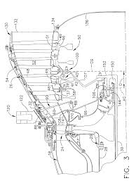patent us6883303 aircraft engine with inter turbine engine frame