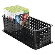 mdesign cd aufbewahrungsbox u2013 aufbewahrungsbox kunststoff schwarz
