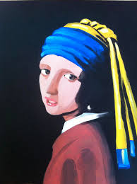 pearl earring painting vermeer s girl with the pearl earring at paint until you faint
