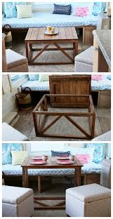 Ana White Truss Coffee Table Diy Projects by Ana White Coffee Table Converts To Dining Table From Wild Rose