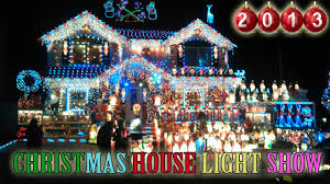 Christmas House Light Show 2013 Best christmas outdoor decorations