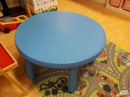 tavolo ikea mammut tavolo tondo mammut azzurro ikea in vendita a baby bazar albignasego