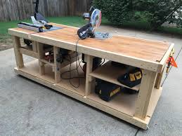 garage workbench build garage workbench plans plansbuild how to