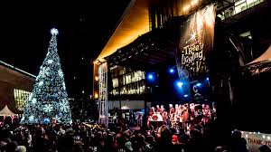 christmas tree lighting near me surrey tree lighting festival city of surrey