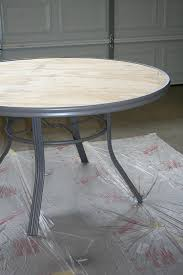 how to make an outdoor table to create a concrete table top for your patio table