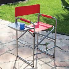 Quest Directors Chair Side Table Tall Director U0027s Chair Direcsource Ltd Ac018 21ta Folding