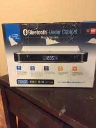 Under Cabinet Kitchen Radios Ilive Blue Bluetooth Under Cabinet Music System Fm Radio Kitchen