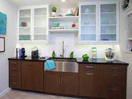Modern White Wood Kitchen Cabinets White Leather Bar Stools With - Kitchen cabinet varnish