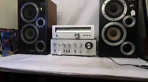 hitachi home theater system vintage hitachi ha 5300 amplifier rare collectable 1974 youtube