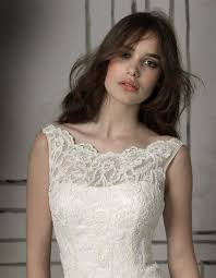 wedding dress necklines beautiful illusion neckline justin wedding dress style