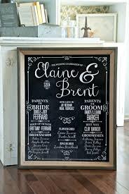 Chalkboard Wedding Programs The 25 Best Wedding Program Sign Ideas On Pinterest Wedding
