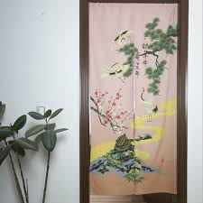 cabinet curtains for sale animal printted sale partition fashion scenery curtain for door