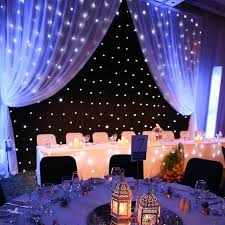 wedding backdrop led online shop customized led curtain for special wedding