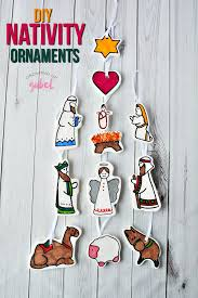 diy nativity ornament crafts for and adults