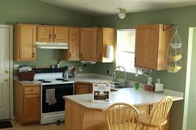 refinishing oak kitchen cabinets before and after kitchen paint with oak cabinets kgmcharters com