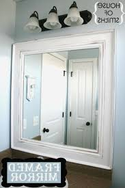 best of diy frame around bathroom mirror bathroom ideas