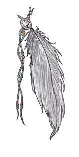 feather designs for tattoos cool bonbaden clipgoo