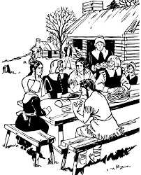 thanksgiving history coloring pages