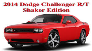 Dodge Challenger 2014 - 2014 dodge challenger r t shaker edition my new car youtube