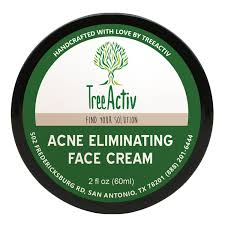 Best Skin Care For Adults With Acne Amazon Com Treeactiv Acne Eliminating Face Cream Best Natural