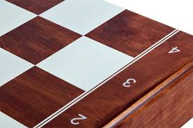 tournament no 6 printed squeres insert tray wooden pieces