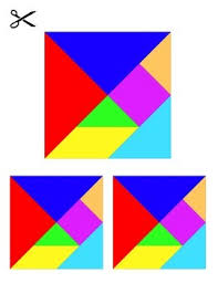 36 tangram puzzles by lessonsense teachers pay teachers