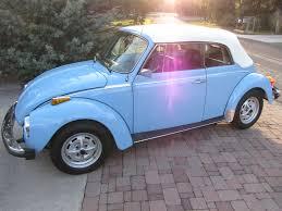 blue volkswagen convertible 1979 florida blue beetle cabrio uber werks vehicle restoration