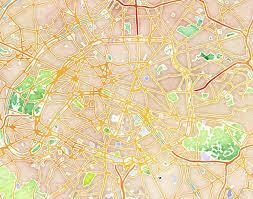 Stamen Maps Stamen Design U0027s Watercolor Paris 20x200