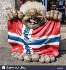 Flag Day Funny Oslo The Capital Of Norway Clear Sunny Summer Day Funny
