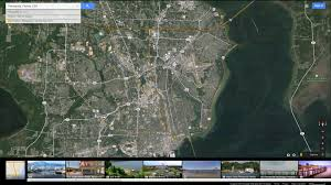 Google Florida Map by Pensacola Florida Map
