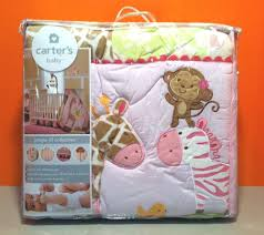 Carters Baby Bedding Sets New S Jungle 4 Crib Bedding Set Carters Bady