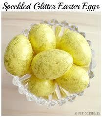 foam easter eggs speckled glitter easter eggs live creatively inspired