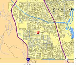 port st fl map 34953 zip code port st florida profile homes