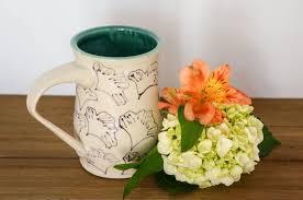 house warming presents pottery coffee mug large ceramic coffee mug pottery cup gift