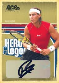 leaf trading cards acquires ace authentic tennis