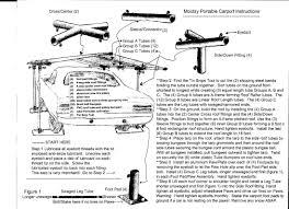 Tarp Canopy Kits by Mootsy Kit Info Mootsy Portable Carport