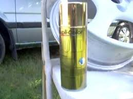 how to paint gold rims p2 youtube