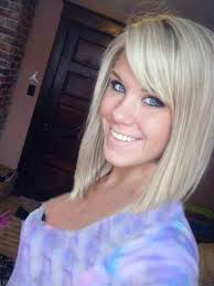 short hairstyle angled away from face angled bobs with bangs popular hairstyles hair type and comebacks