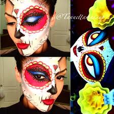 day of the dead makeup for halloween la muerte book of life inspired halloween pinterest books