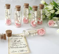 message in a bottle wedding will you be my bridesmaid message in a bottle bridesmaid