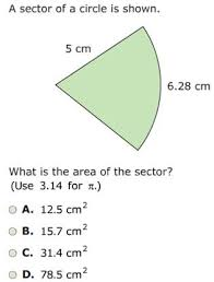 Area Of Sector Worksheet 7 3 1a Circumference Area Of Circles Sectors Scimathmn