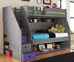 Berg Transforming Loft  XL Twin Over Twin With Desk Bedroom - Twin bunk bed with desk
