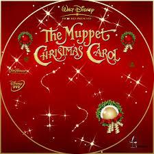 the muppet carol custom dvd labels muppet