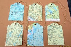 travel theme decor 25 map tags travel theme wedding decorations atlas map die cuts