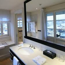 Framed Bathroom Mirror White Framed Bathroom Mirror Design Ideas