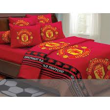 Man Utd Duvet Manchester United Bedspreads Single U0026 Queen Size 11street