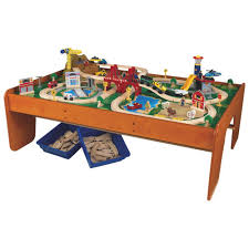 table top train set kidkraft ride around train set toy cars other vehicles best