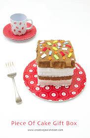 piece of cake pinata style gift box creative jewish mom